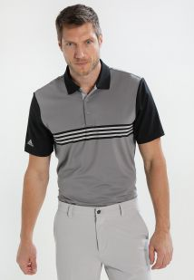 Imagen secundaria de producto de adidas Golf ULTIMATE365 ENGINEERED POLO Camiseta de deporte grey/black - adidas Golf