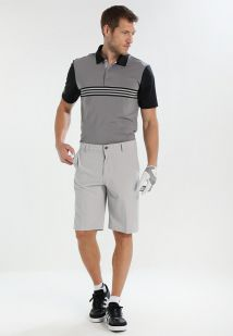 Imagen principal de producto de adidas Golf ULTIMATE365 ENGINEERED POLO Camiseta de deporte grey/black - adidas Golf